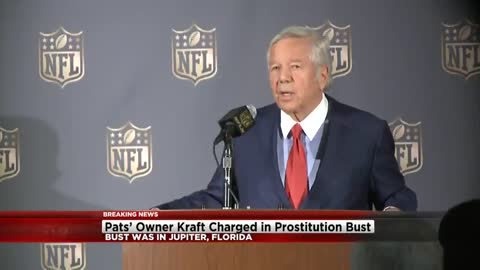 New England Patriots owner Robert Kraft solicited prostitute according to police
