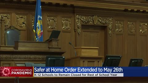 Gov. Evers extends safer at home order to May 26