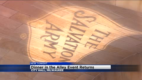 'Dinner in the Alley' event returns to City Hall