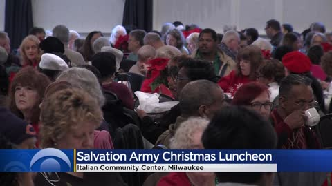 Salvation Army hosts annual older adult Christmas luncheon