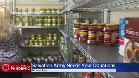 Salvation Army seeks donations during coronavirus pandemic