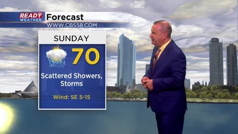 Stormier times ahead for Sunday ( & Monday too!)
