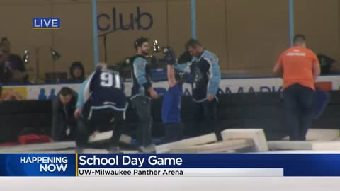 School Day Game: UW-Panther Arena turns into classroom for thousands of students