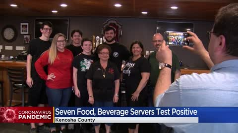7 Kenosha County food and beverage workers test positive for...