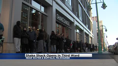 Shake Shack is now open in Milwaukee's Third Ward