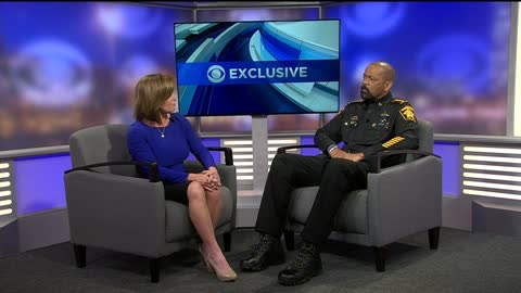 "Sheriff Clarke promising ""exciting new projects to announce"" after submitting his resignation letter as Sheriff"