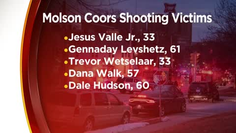 Victims, gunman identified in deadly mass shooting at Molson...