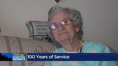 Natalie's Everyday Heroes: Sister Rose Kroeger serves community for 70 years