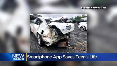 Mother, daughter say smartphone app saved teen's life
