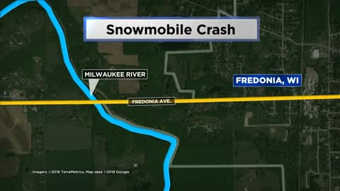 Man dies in Ozaukee County snowmobile crash