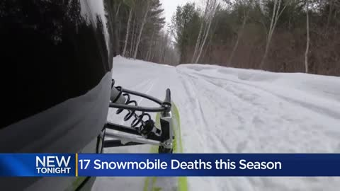 Speed, alcohol 'concerning trends' in recent snowmobile...