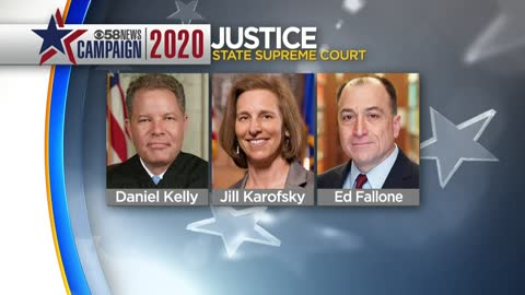 Supreme Court Justice Daniel Kelly, Judge Jill Karofsky advance...