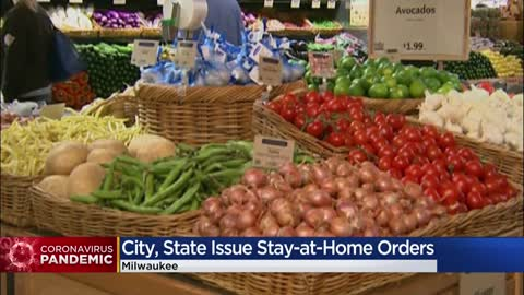 City of Milwaukee to issue 'stay at home order' ahead of state