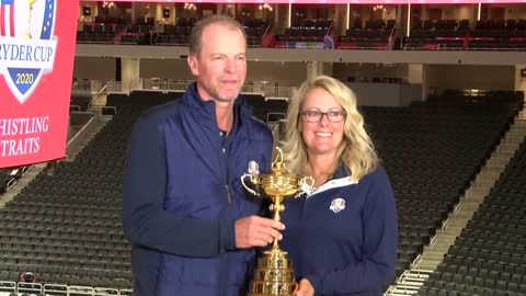 Stricker appointed US captain for Ryder Cup in home state