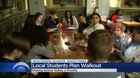 Local students plan a walkout to stand up against gun violence in schools