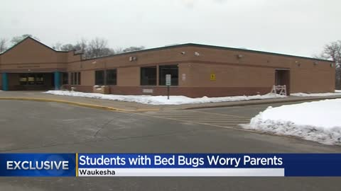 Parents worried after bed bugs found on students at a Waukesha County elementary school
