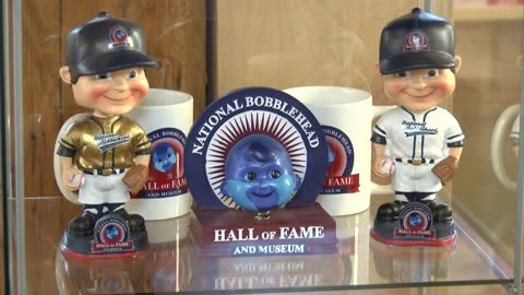 Bobbleheads get the spotlight at local Hall of Fame and Museum