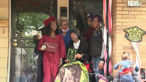 Menomonee Falls HS graduate shares special ceremony with father...