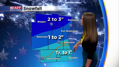 Monday AM Update: Light snow wrapping up