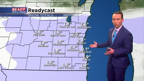 Sunday Overnight Update: Snow reports are in, lake effect continues through Monday morning
