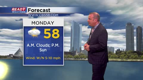 Bye Sunday storms, hello some short-lived sun for Monday