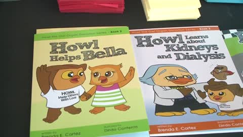 Author Brenda Cortez creates line of children's books with message about organ donation