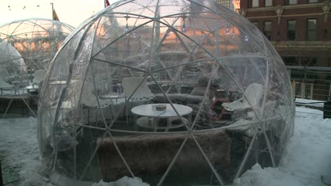 "Wisconsin taverns embrace ""igloo"" trend allowing patrons..."