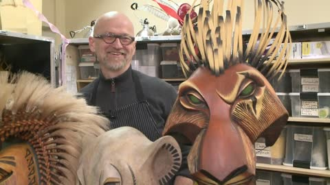 The Lion King puppet master returns for performances in home...