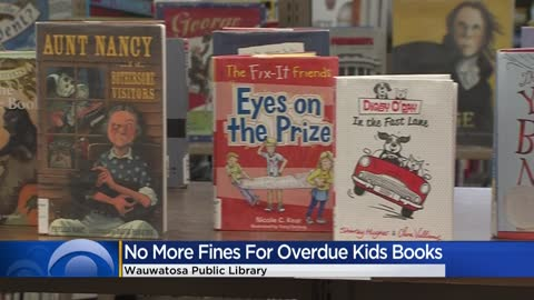 Wauwatosa Library eliminates fines for overdue children's books