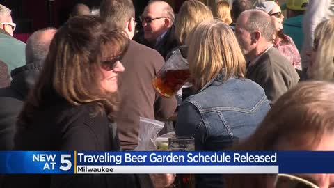 Milwaukee County 2020 Traveling Beer Garden schedule released...