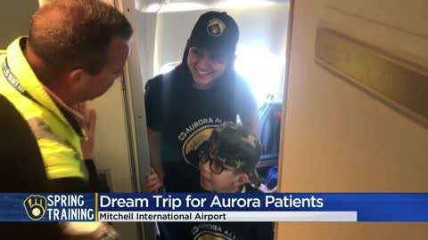 Young Brewers fans receive 'dream trip' to spring training