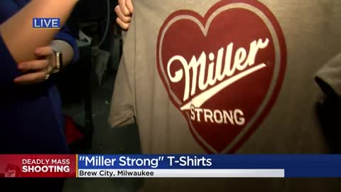 "Local company making ""Miller Strong"" t-shirts for Molson..."