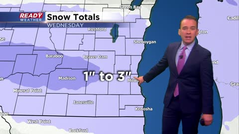 Winter weather advisory issued for Wednesday morning snow