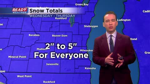 Next round of snow arrives Wednesday night