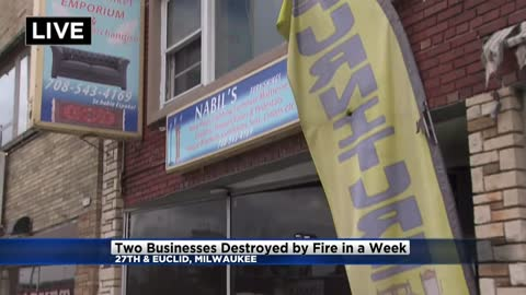 Two Milwaukee-area businesses destroyed by fire in same week