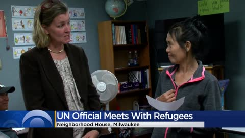 United Nations official meets with refugees at Milwaukee's Neighborhood House