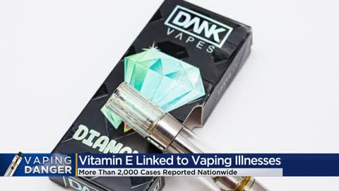 Possible chemical culprit found in vaping illness outbreak