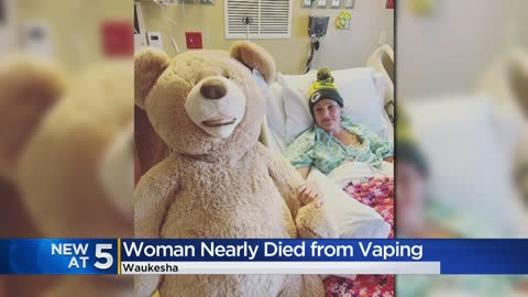 'It's a quick killer:' Waukesha woman nearly dies from vaping