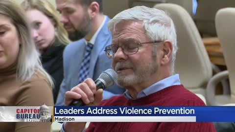 Milwaukee leaders make case for more state help for violence...