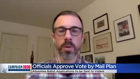 Absentee ballot request form proposal takes step forward as Pres....