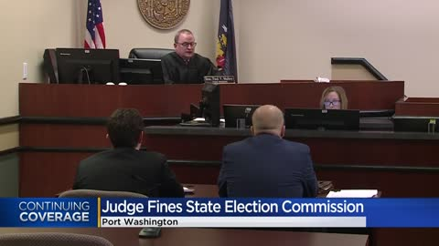 Wisconsin judge orders up to 209K voter names be deleted