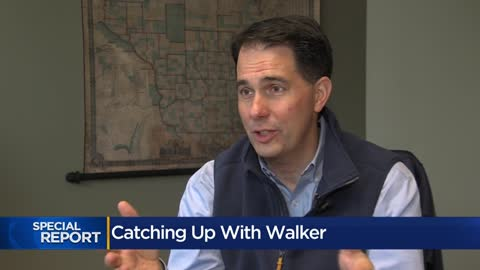 Catching up with former Gov. Scott Walker, a year after Evers elected