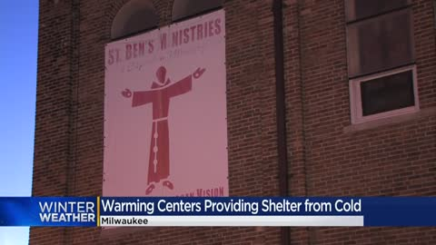 Milwaukee opens warming centers as temperatures plummet