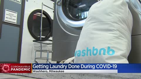 "New laundry startup makes sure no one is ""hung out to dry"" during COVID crisis"