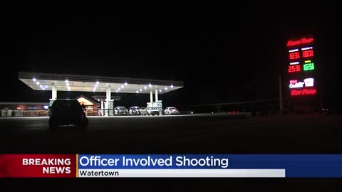 Authorities investigating officer-involved shooting following...