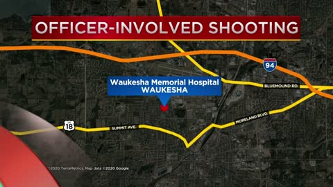 Man shot, killed after pointing gun at Waukesha Police outside hospital