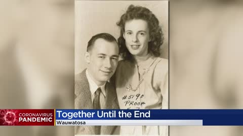 'They were together': Wauwatosa couple dies of COVID-19 within hours of each other