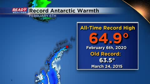Weather Whys: Antarctica observes warmest temperature on record