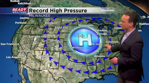 Record high pressure in Milwaukee