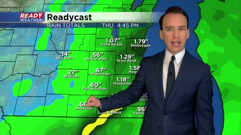 Soaking rain and wind expected Wednesday and Thursday, flood watch issued